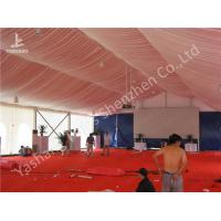 Enclosed Space Elegant Dinner Style Wedding Tent Clear Span Marquee White Canopy