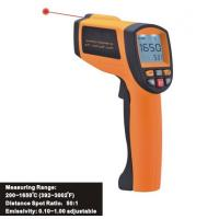 Data Store/Recall Function, Handheld Digital Laser Infrared Thermometer IR1650, Data Hold function for sale