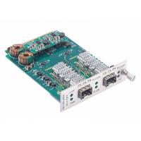 Quality 8.5 to 11.7Gbps Multi-rate Fiber Converter Card SFP+ to SFP+ Transponder with Loopback and 3R for sale