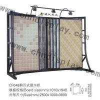 Quality Ceramic Rack Stone Exhibition Page Turning Type Rack for sale