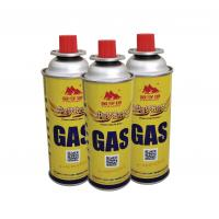 Quality Empty camping gas can butane gas canister gas container for sale