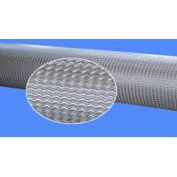 Quality Polishing Knurled Rollers For Automotive Decoration Material , Leather Embossing Roll for sale