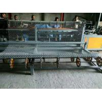 Buy 4m width Full Automatic double wire feeding Chain Link Fence Making Machine at wholesale prices