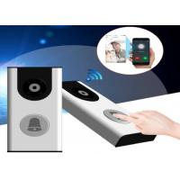 Quality Smart Home WiFi Video Door Phone Built In PIR Sensor and Rechargeable Battery for sale