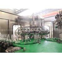 Quality Automatic Carbonated Water Bottling Plant For Sparkling Wine / Whiskey / Vodka for sale