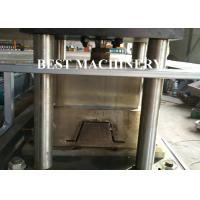 Buy Wall Ceiling Channel Roll Forming Machine Light Steel Keel Omega BV / SGS at wholesale prices