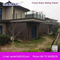 China Typhoon Resistant Exterior Cladding Panel Weatherboard 3050*192mm on sale