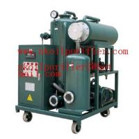 Quality Vacuum Turbine Oil Purifier/Oil Purification/Oil Filtration for sale
