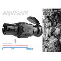 50mm Lens Lightweight Thermal Clip ON 1500mDetection Range Military Use