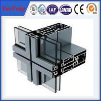 Quality thermal insulated aluminium profiles manufacturer, ODM aluminium curtain wall profiles for sale