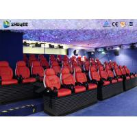 Quality Virtual Reality Electric 5D Simulator For 5D Movie Theater With 16 Kinds Of Effect for sale