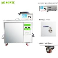 Quality 28khz DPF Dirty Diesel Particulate Ultrasonic Filter Cleaning Machine 360 liters with 9KW Heating for sale
