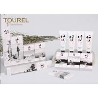 Buy cheap Guest Room Hotel Bathroom Amenities Disposable Toiletries With Shower Gel / Shaving Kit from wholesalers
