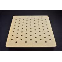 Quality Refractory Cordierite Kiln Shelves Batts With Hole Energy Saving 550 * 550 * 20mm for sale