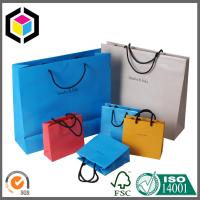 Quality Colorful Design Printed Paper Character Bags; Rope Handle Thick Paper Shop Bag for sale