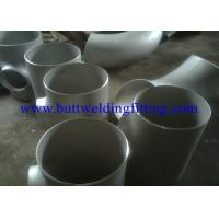 Quality SS Equal Tee Stainless Steel Tee JIS Sus304 ,Sus316L Tee  Din 1.4301 , 1.4306 , 1.4401 , 1.4571 for sale