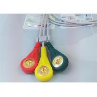 Buy Patient ECG Monitor Cable 3 Color Alligator clip electrodes Needle Electrode at wholesale prices