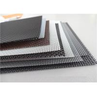 Quality High Intensity Stainless Steel Insect Screen , Black King Kong Window Screen Mesh for sale