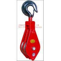 Quality single wheel hook pulley,single wheel hook pulley for sale