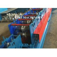 Buy Flat Oval Pipe / Tube Making Custom Roll Forming Machine Ellipse Shape Steel at wholesale prices