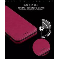 Quality Magnetic Force Samsung S8 Plus Leather Case , Dirt Proof Crazy Horse Leather Wallet Case for sale