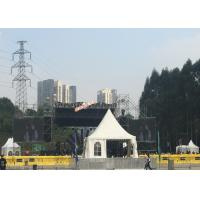 Quality Stable Small 3 X 3m Outside Party Tents , Small Gazebo Tent With White Window for sale