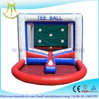 Quality Hansel Popular inflatable Tee ball games for kids inflatable kids ball games for sale