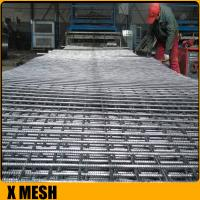 Quality High tensil 200mm x 200mm concrete reinforcing wire mesh sheets for Concrete footpaths for sale