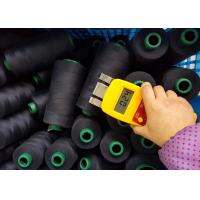 China 100%  Spun Polyster Industrial Sewing Thread  Black and White 402 5000y 10000y on sale