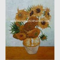 Buy cheap Impressionism Van Gogh Sunflower Painting Reproduction Hand Painted Masterpiece from wholesalers