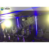 Quality 7D Cinema Theater With Laser Games And Live Action Movies For Science And Horror for sale