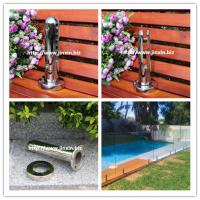 Quality 304/316 pool fence glass spigot glass clamp for sale
