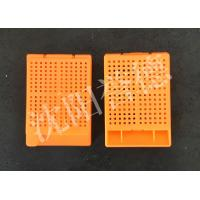 Quality Pathology Medical Consumable Tissue Embedding Cassette With Biopsy Square Holes for sale