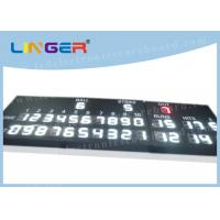 Quality White Color LED Baseball Scoreboard For Stadium 12'' Digit Height 110V ~ 220V for sale
