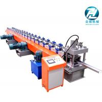 Auto Punching C Purlin Roll Forming Machine For Construction Material 3mm for sale