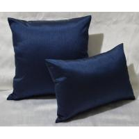Quality 100% Cotton Pillow Cushion Covers Navy Blue Decorative Pillows 30x40cm for sale
