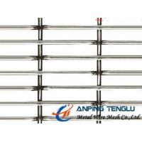 Quality Slot Hole Crimped Wire Mesh in SS304, SS316 for Architecture & Animal Raising for sale