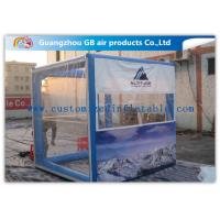 OEM Inflatable Transparent Tent With Removable Walls & Roof for Temporary Storage Shed for sale