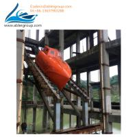 Buy FRP Material Totally Enclosed Type 15 People Free-Fall Lifeboat Including Davit at wholesale prices