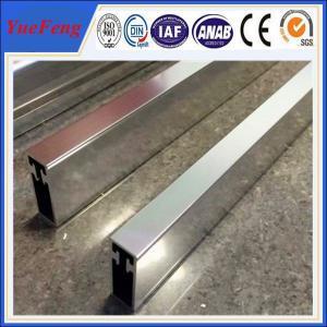 Quality Hot! OEM polish shiny aluminum extrusion profile factory, 4 um polished aluminium tube for sale