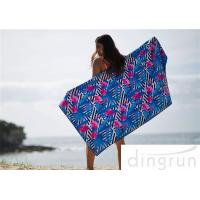 Buy Supper Soft Custom Printed Beach Towels AZO Free Eco-Friendly at wholesale prices