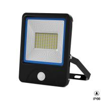 Quality 120Lm Per Watt Outdoor Integrated LED Flood Light Motion Sensor Energy Saving for sale