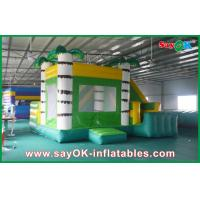Quality Adorable Giant Commercial Inflatable Bounce House With Slide for sale