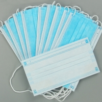 Quality EN149 Anti Fog Mouth 3 Layer Civil Disposable Nose Mask for sale