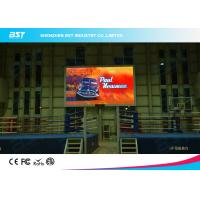 Energy Saving Flexible Indoor Advertising Led Display P3 Viewing Angle 140 Degree