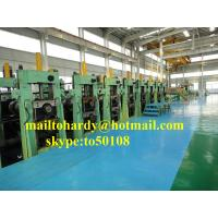 China Metal pile sheet cold forming production line, piling sheet production line on sale