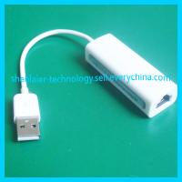 China White 100Mbps USB Male to Rj45 Female Adapter for Computer on sale
