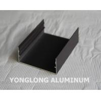 Quality Powder Coated Aluminium Profile For Curtain Wall Frame Champangn , Bronze for sale