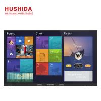 China Anti Glare Glass IR Touch Screen , 1920*1080P LCD Digital Conference Displayer 86 4K on sale
