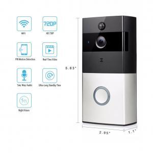 Quality Smart IR Wireless Video Door Phone 8-10 Month's Battery Life IR 720P WiFi Video Doorbell for sale